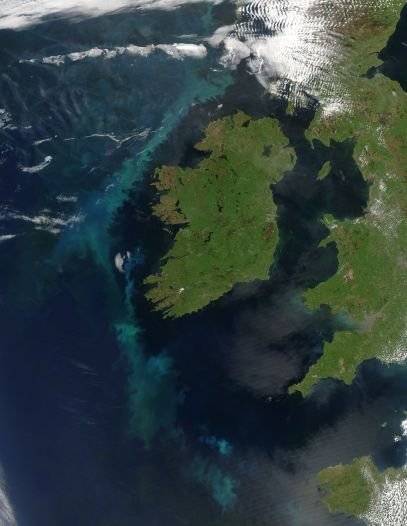 Ireland, Atlantic Ocean