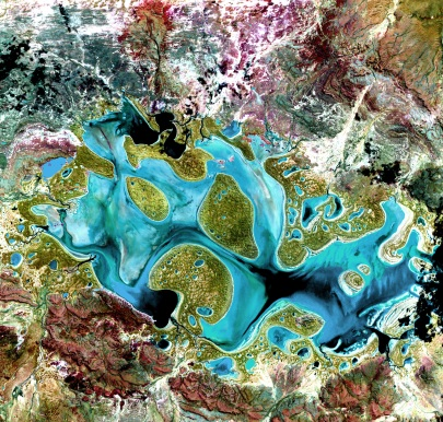 Ephemeral Lake Carnegie, Western Australia