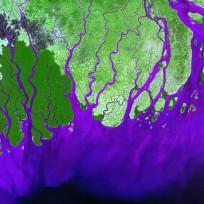 Ganges River, Bay of Bengal