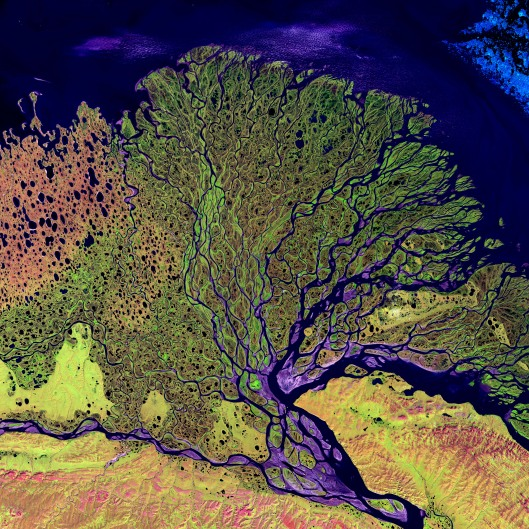 Lena River, Russia