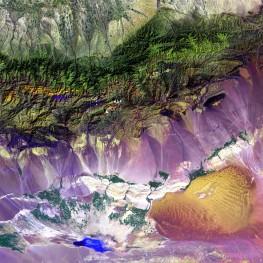 Turpan Depression, Bogda Mountains, China