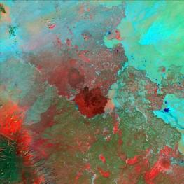 Syrian Desert, Jordan, Saudi Arabia, and Iraq